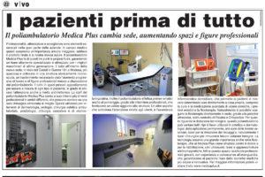 medica plus articolo su vivo modena