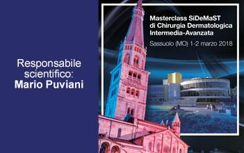 Masterclass SiDeMaST di Chirurgia Dermatologica – Intermedia-Avanzata Sassuolo (MO)