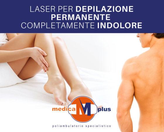 Laser per depilazione permanente completamente indolore!