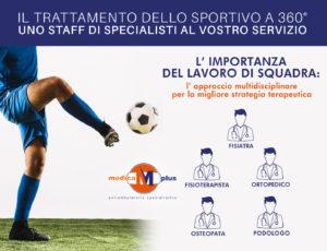 90a758a5c720 Il trattamento dello sportivo a 360°: uno staff di specialisti al vostro  servizio!