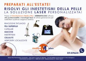 laser dermatologia medica plus modena