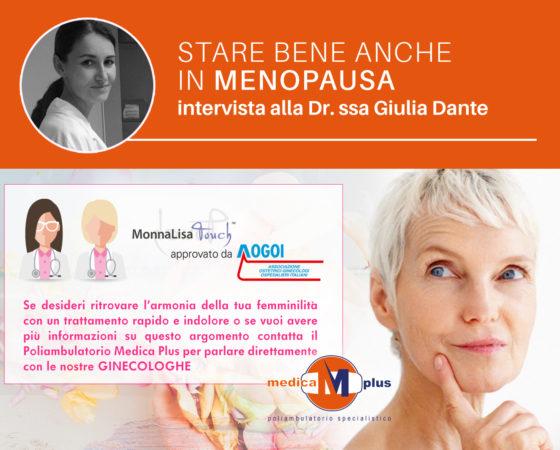 Stare bene anche in menopausa