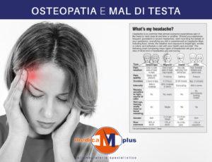 osteopatia mal di testa