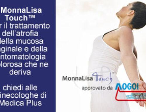 MonnaLisa Touch trattamento LASER per l'atrofia della mucosa vaginale