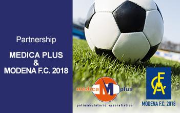 partnership con Modena FC 2018